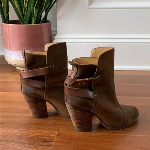 Rag & Bone Brown Suede Ankle boots Sz 39
